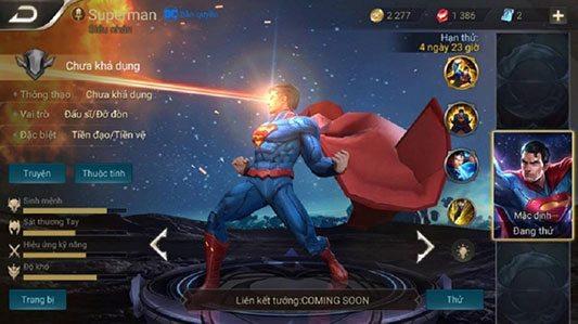Cách lên đồ, bảng ngọc bổ trợ cho Superman 5