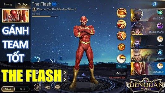 Cách lên đồ, bảng ngọc bổ trợ cho The Flash 6