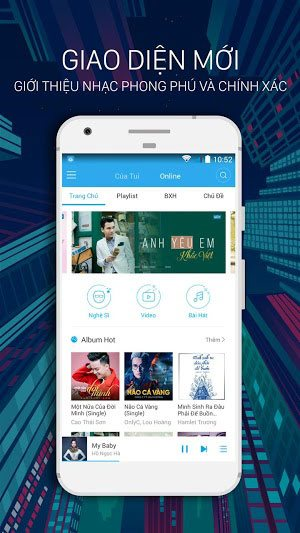Tải NhacCuaTui Phiên Bản Mới Nhất Cho Điện Thoại Android, iOS 3