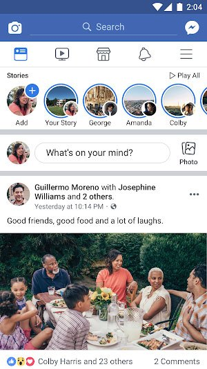 Tải Ứng Dụng Facebook Cho Điện Thoại Android, iOS 1