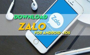Tải Zalo Phiên Bản Mới Nhất Cho Điện Thoại Android, iOS