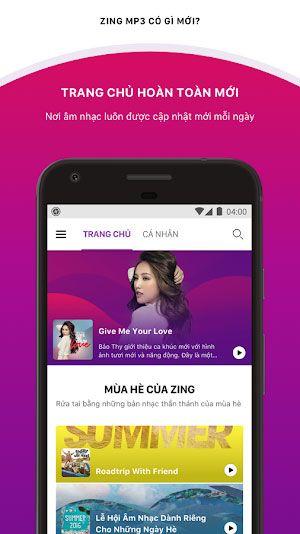 Tải Zing Mp3 Phiên Bản Mới Nhất Cho Điện Thoại Android, iOS 1