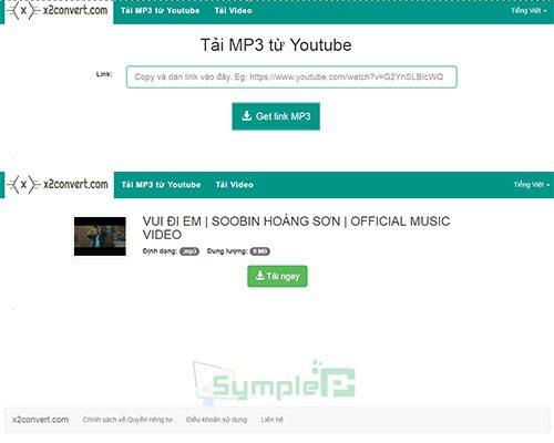 Cách Tải Mp3 Từ Youtube, Tách Nhạc Youtube Không Cần Phần Mềm 4