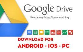 Tải Google Drive Cho Máy Tính, Điện Thoại Android, iOS