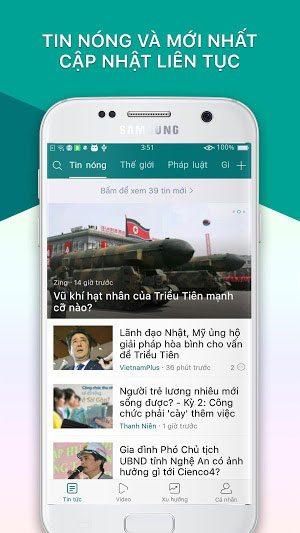 Tải Báo Mới Phiên Bản Mới Cho Điện Thoại Android, iOS 1