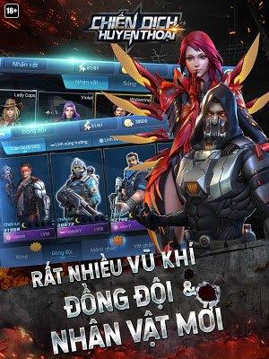Tải Chiến Dịch Huyền Thoại Cho Điện Thoại Android, iOS 2