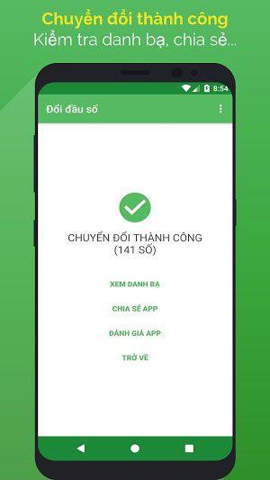 Tải Chuyển Đổi Đầu Số - Đầu Số Mới Cho Điện Thoại Android, iOS 2
