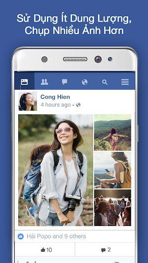 Tải Facebook Lite Phiên Bản Mới Cho Điện Thoại Android 3
