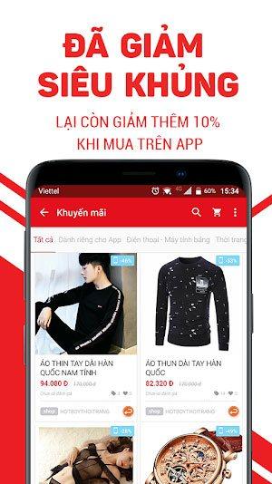 Tải FPT Sendo.vn Phiên Bản Mới Cho Điện Thoại Android, iOS 1