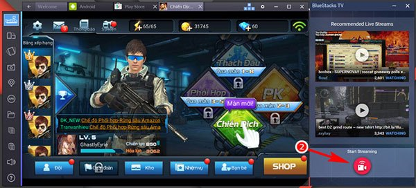 Download BlueStacks – Giả Lập Android Chơi Game Mobile Trên PC