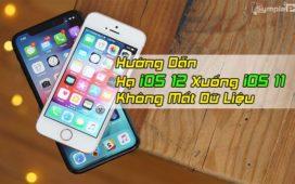 Cách Hạ iOS 12 Xuống iOS 11 Không Mất Dữ Liệu, 100% Thành Công