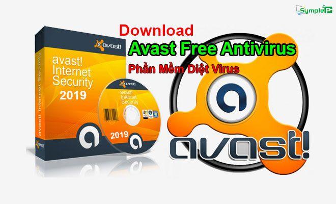 Download Avast Free Antivirus Full 2019 – Phần Mềm Diệt Virus Siêu Nhẹ