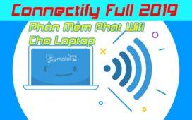 Download Connectify Full 2019 – Phần Mềm Phát Wifi Số 1 Cho Laptop
