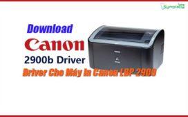 Download Driver Canon LBP 2900/2900B Cho Win 7/8/10 (32bit – 64bit)