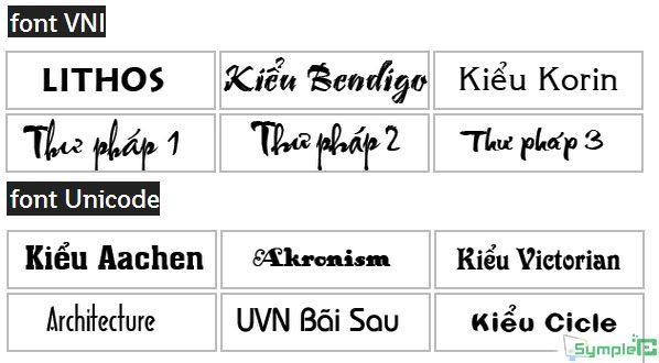 Download Font VNI Full – Unicode – Bộ Font Tiếng Việt Tuyệt Đẹp 2019