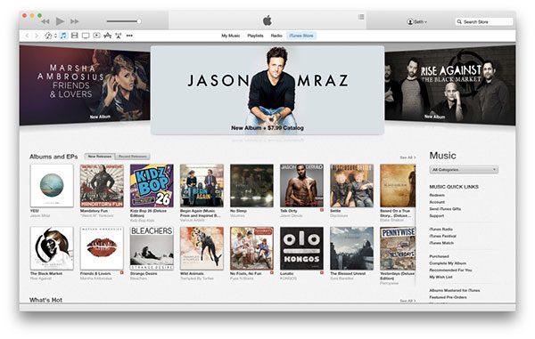 Download iTunes 12 Mới Nhất – Sao Lưu Dữ Liệu iPhone/iPad Đơn Giản