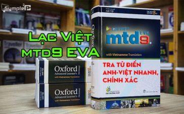 Download Lạc Việt mtd9 EVA – Tra Từ Điến Anh-Việt Nhanh, Chính Xác