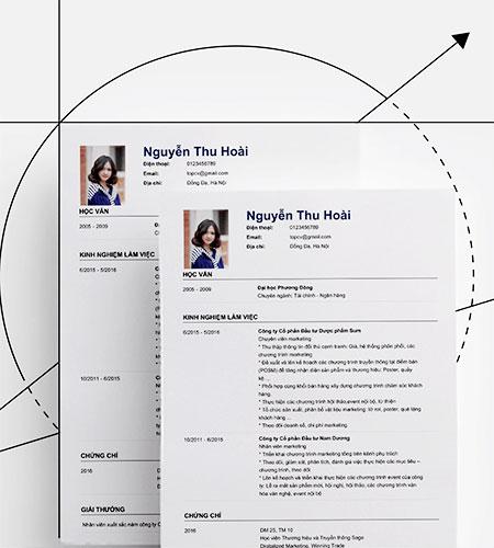 Download Mẫu CV Xin Việc Chuẩn Form Tiếng Việt, Tiếng Anh