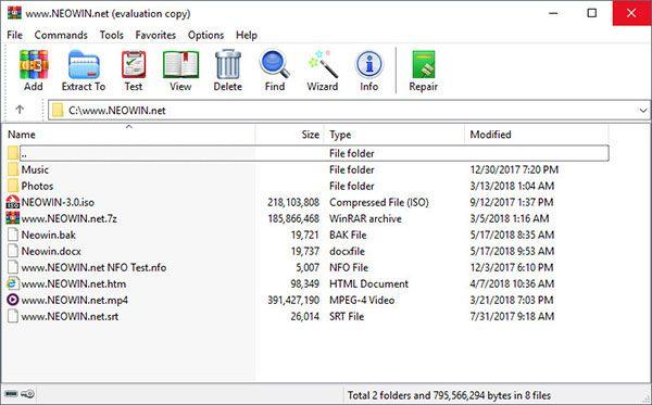 Download WinRAR – Phần Mềm Nén File, Giải Nén Tệp Tin Trên PC