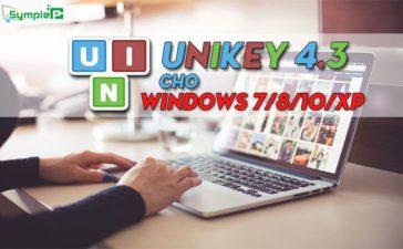 Tải Unikey 4.3 - Bõ Gõ Tiếng Việt Tốt Nhất Cho Windows 7/8/10/XP
