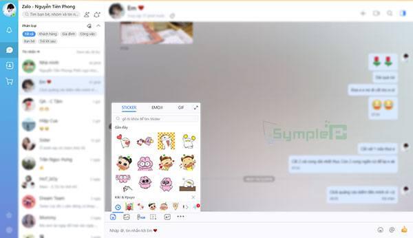 Chat Zalo Web – Đăng Nhập Zalo Online Trên Trình Duyệt Máy Tính
