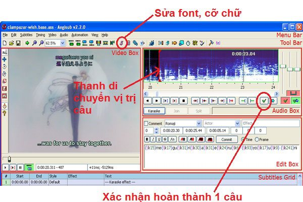 Download Aegisub 2018 – Tạo Sub, Phụ Đề Cho Phim, Làm Video Lyrics