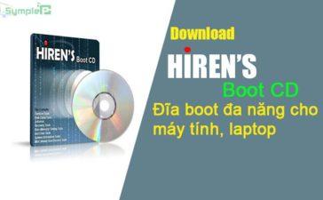 Download Hiren Boot CD Mới Nhất - Đĩa Boot Đa Năng Cho Máy Tính