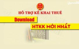 Download HTKK Mới Nhất - Phần Mềm Hỗ Trợ Kê Khai Thuế Qua Mạng