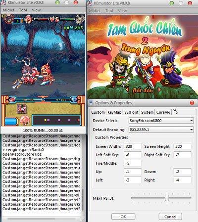 Download Kemulator 2018 - Giả Lập Java, Chơi Game Trên Máy Tính