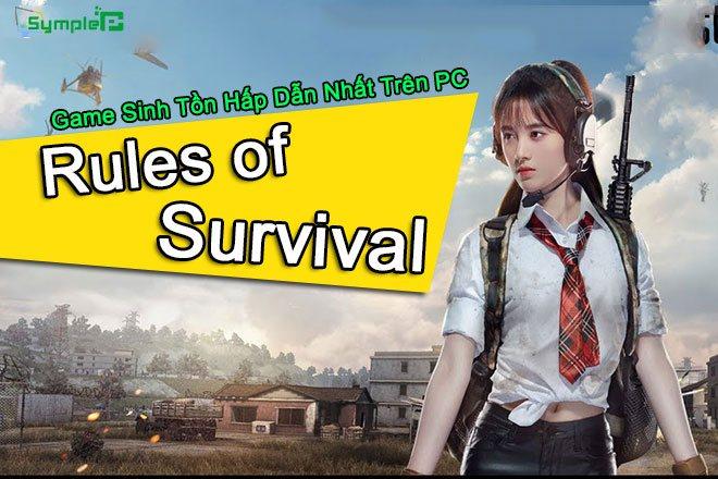 Download Rules Of Survival - Game Sinh Tồn Hấp Dẫn Nhất Trên PC