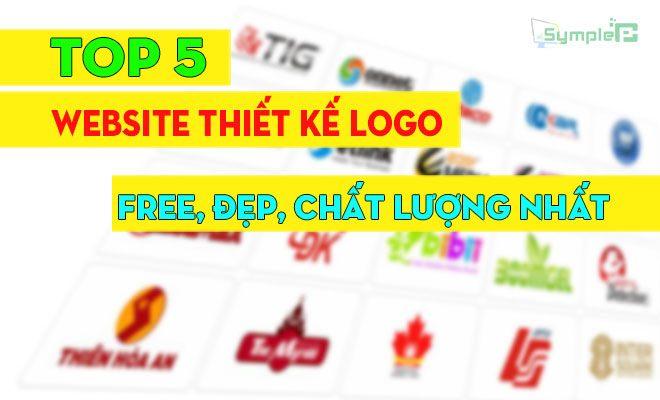 Top 5 Website Thiết Kế Logo Online Free Đẹp, Chất Lượng Nhất 2019