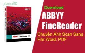 Download ABBYY FileReader - Chuyển Ảnh Scan Sang File Word, PDF