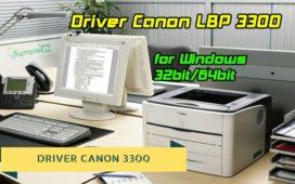 Download Driver Máy In Canon LBP 3300 Cho Windows 32bit/64bit