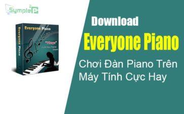Download Everyone Piano – Chơi Đàn Piano Trên Máy Tính Cực Hay