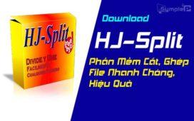 Download HJSplit - Phần Mềm Cắt, Ghép File Nhanh Chóng, Hiệu Quả