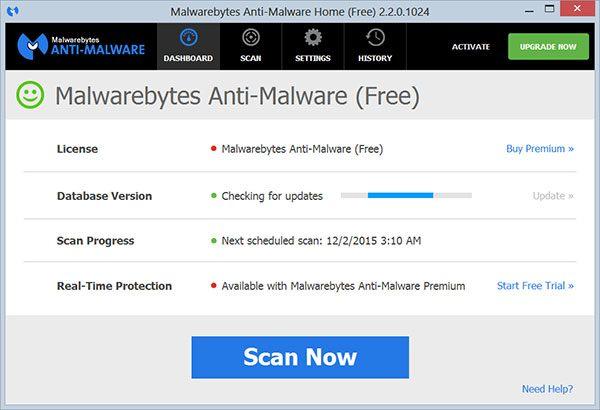 Download Malwarebytes Anti Malware – Phát Hiện, Loại Bỏ Phần Mềm Độc Hại