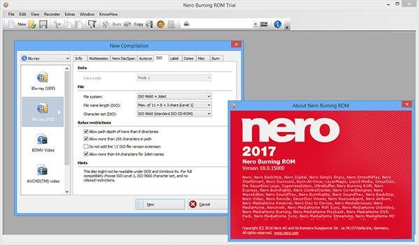 Download Nero 2019 – Phần Mềm Ghi Đĩa CD/DVD Chất Lượng Cao