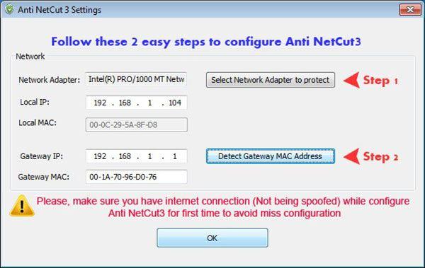 Download NetCut – Cắt Và Chống Cắt Mạng Internet Trên Máy Tính