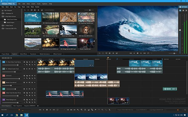 Download SONY Vegas Pro – Phần Mềm Tạo Video Intro 4K Tốt Nhất