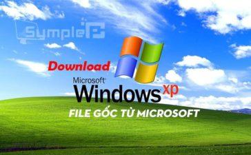 Download Windows XP – Bộ Cài .ISO WinXP SP3 File Gốc Từ Microsoft