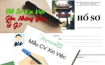 Hồ Sơ Xin Việc Gồm Những Giấy Tờ Gì? Cách Viết CV Chuẩn Nhất 2019