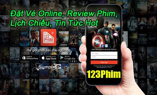 Tải 123Phim – Đặt Vé Online, Review Phim, Lịch Chiếu, Tin Tức Hot