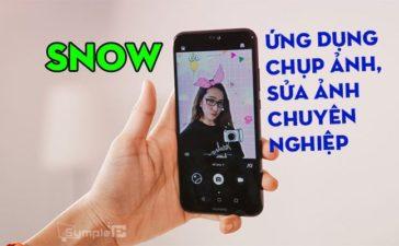 Tải SNOW - Ứng Dụng Chụp & Sửa Ảnh Siêu Cute Cho Android, iOS
