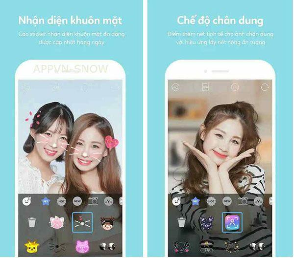 Tải SNOW - Ứng Dụng Chụp Ảnh, Sửa Ảnh Chuyên Nghiệp Android, iOS
