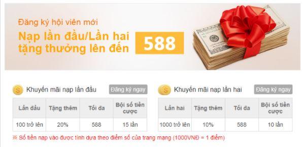 Tổng hợp các khuyến mãi tặng tiền cược của nhà cái KUBET