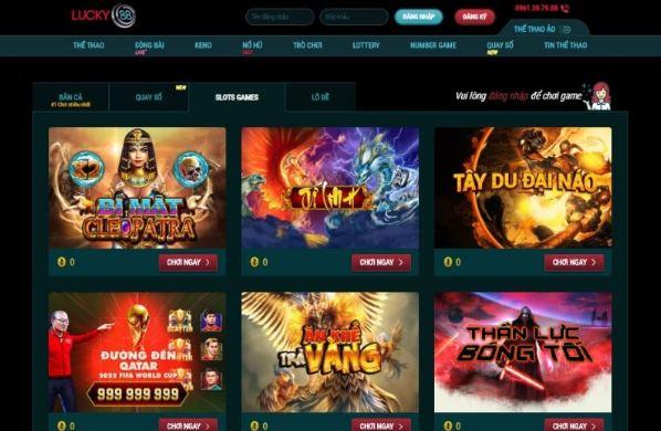 Lucky88 Nhà cái hàng đầu Châu Á