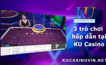 Baccarat tại KU Casino